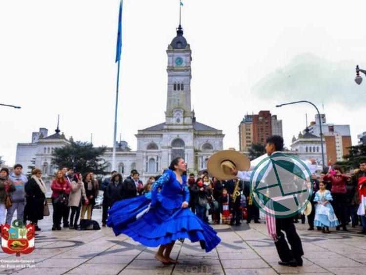 Actividades por el 197º aniversario de la independencia del Perú 03