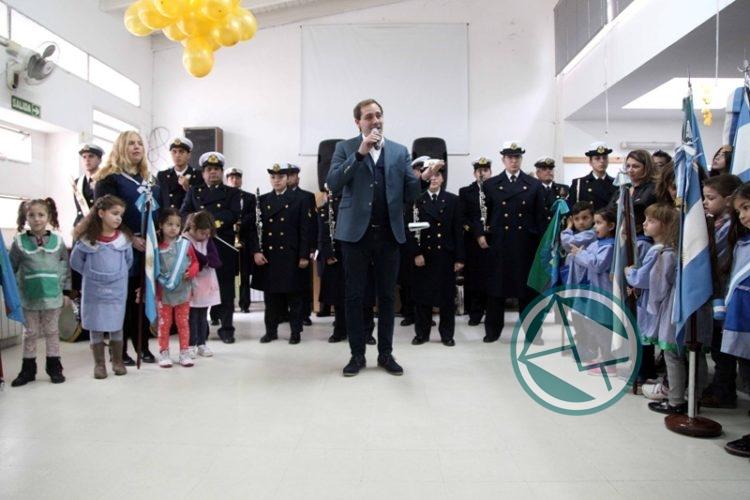 Garro participó del 50° aniversario del Jardín N° 929 0