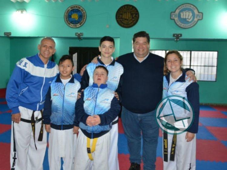 Subsidio a la Escuela Municipal de Taekwondo de Berisso 1