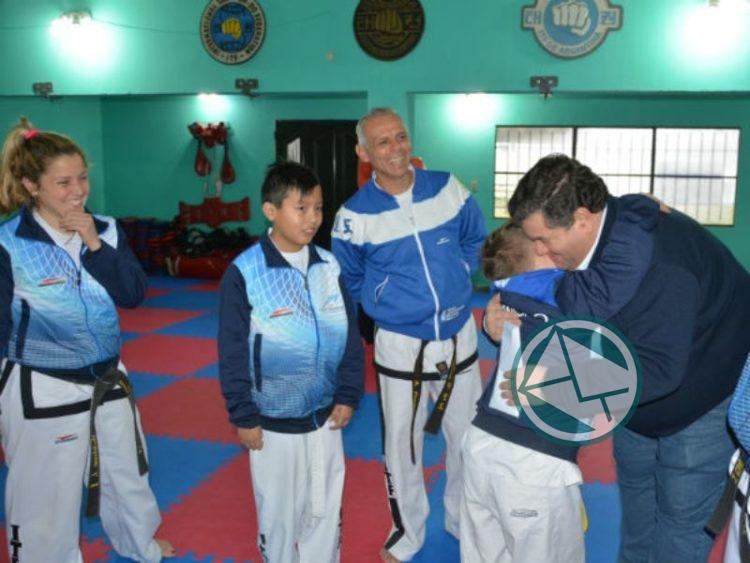 Subsidio a la Escuela Municipal de Taekwondo de Berisso 2