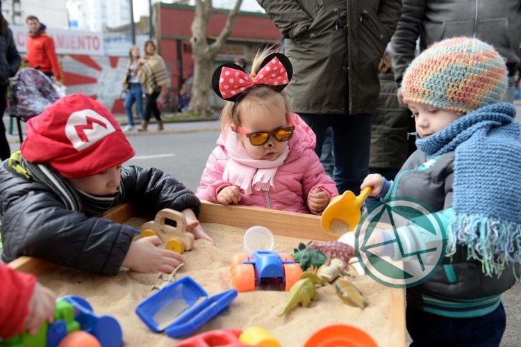 Con diversas propuestas, los niños celebraron su día en La Plata 07
