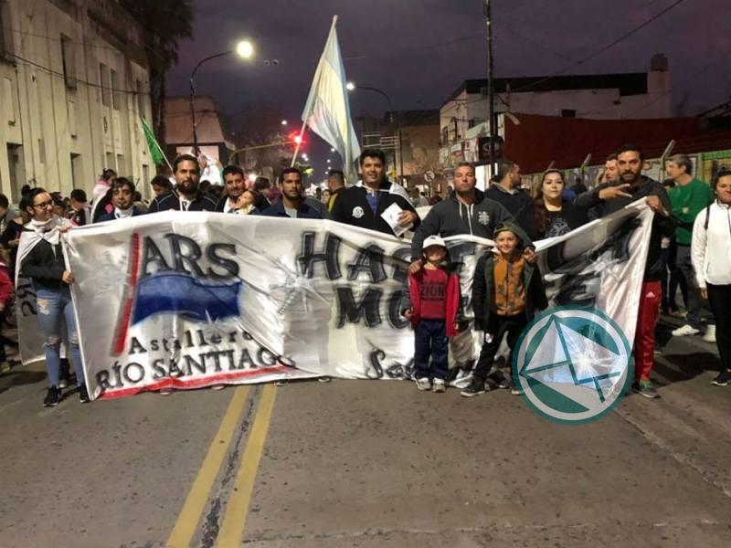 Marcha de Antorchas ARS en Berisso1