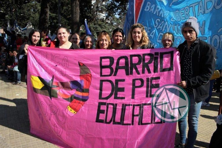 movilización Frente de Unidad Docente, LdeS La Plata 1