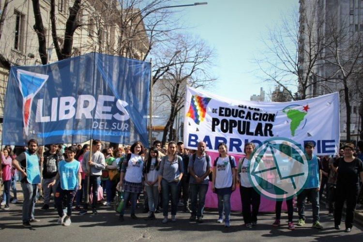 movilización Frente de Unidad Docente, LdeS La Plata 2