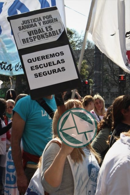 movilización Frente de Unidad Docente, LdeS La Plata 3