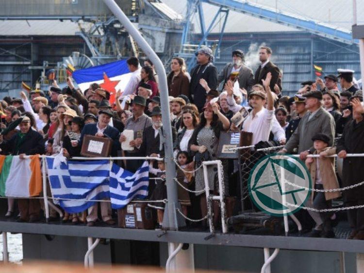 Arribo simbólico en el Puerto La Plata 01