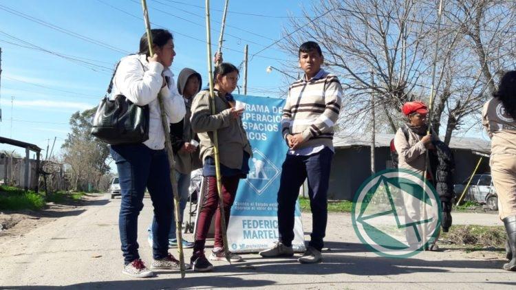 Jornada de limpieza del FOP en Altos de San Lorenzo1