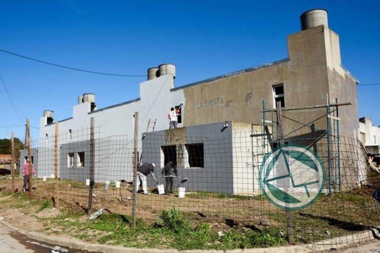 viviendas paralizadas en Villa Progreso 1