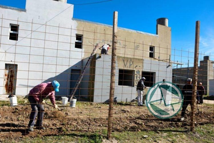 viviendas paralizadas en Villa Progreso 3