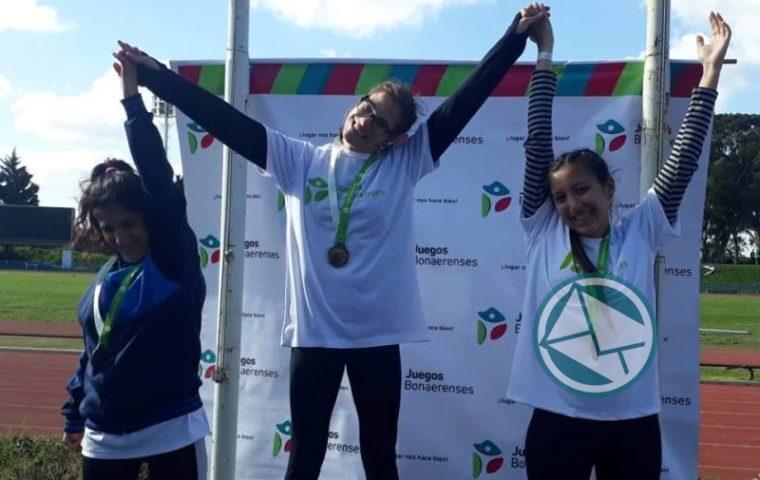 Berisso cosechó cinco medallas en el segundo día de los Juegos Bonaerenses3