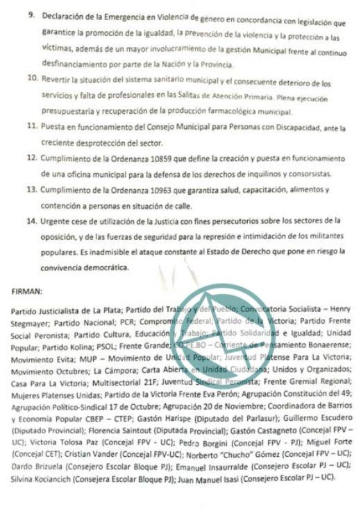 Carta emerngencia La Plata 3
