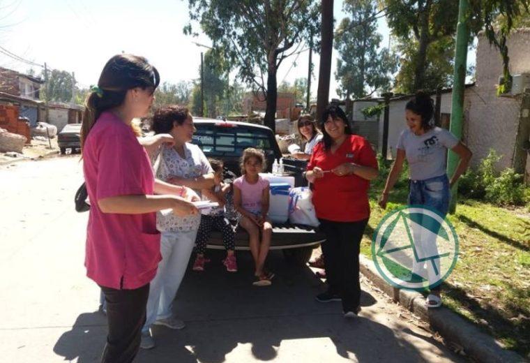 En Ensenada se lleva adelante en los barrios la Campaña Nacional de vacunación 1