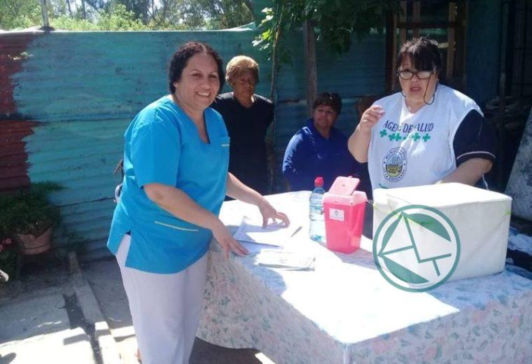 En Ensenada se lleva adelante en los barrios la Campaña Nacional de vacunación 2