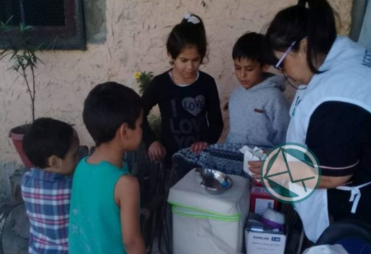 En Ensenada se lleva adelante en los barrios la Campaña Nacional de vacunación 3