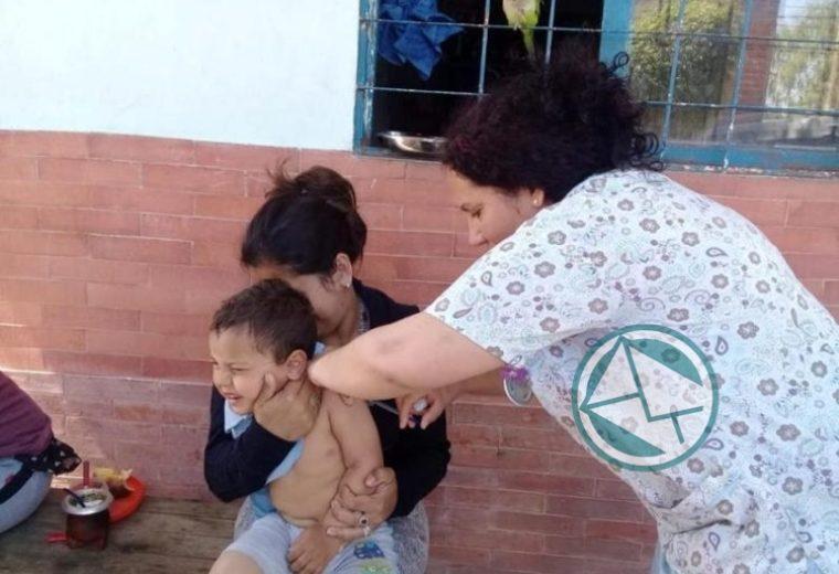 En Ensenada se lleva adelante en los barrios la Campaña Nacional de vacunación 4