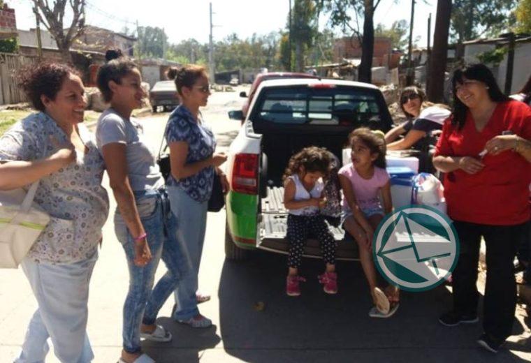 En Ensenada se lleva adelante en los barrios la Campaña Nacional de vacunación 5
