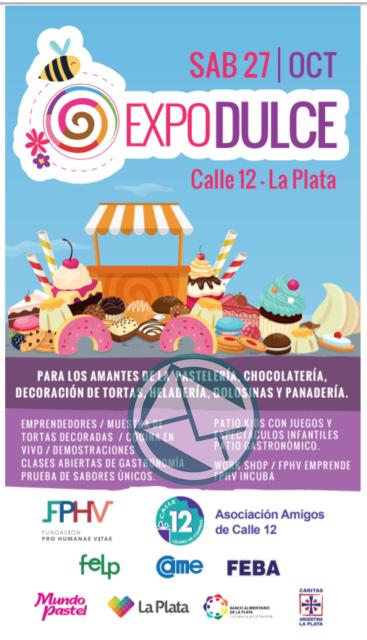 Se viene Expodulce 2018 en la calle 12 de la ciudad de La Plata 1