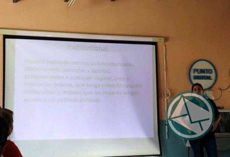 Jornada taller sobre los aspectos legales en Violencia de Género dictado en el CIC Barrio Obrero01