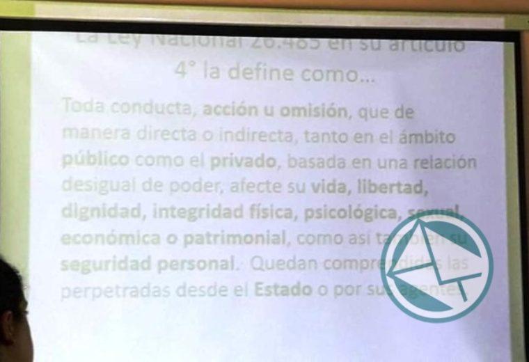 Jornada taller sobre los aspectos legales en Violencia de Género dictado en el CIC Barrio Obrero02