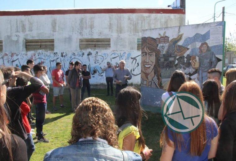 La secundaria 8 de Ensenada recorrió la Ruta de la Memoria 2