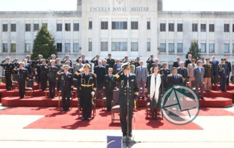 Nedela en la ceremonia por el 146° Aniversario de la Escuela Naval01