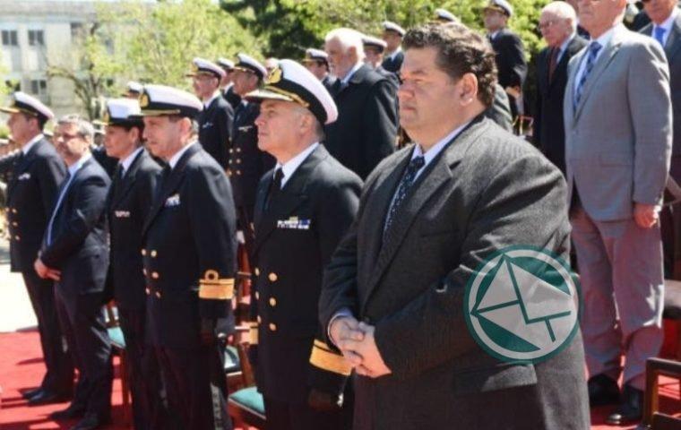 Nedela en la ceremonia por el 146° Aniversario de la Escuela Naval03