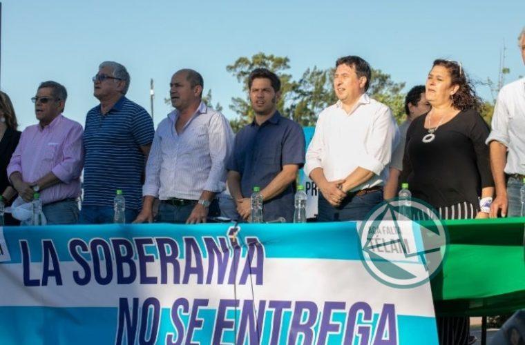 Banegas instó a defender la soberanía fluvial y marítima 4