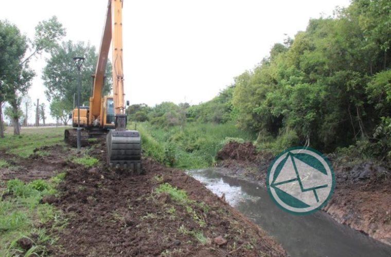 Mantenimiento y limpieza en Punta Lara tras las lluvias 04