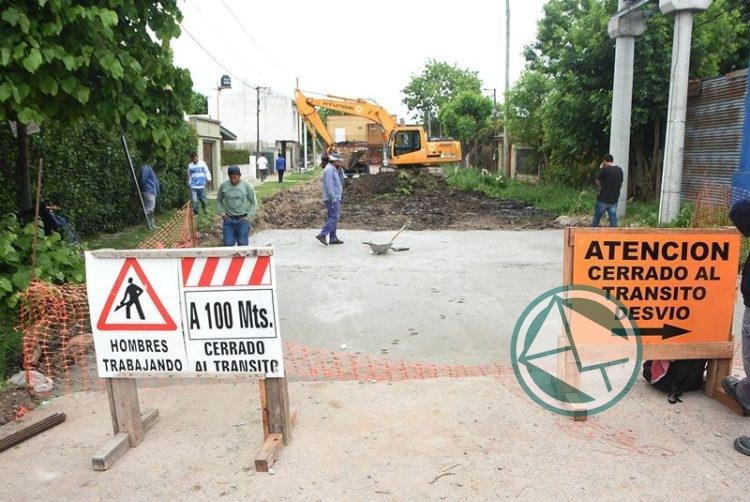 Pavimentación de calle 169 entre 21 y 22 0
