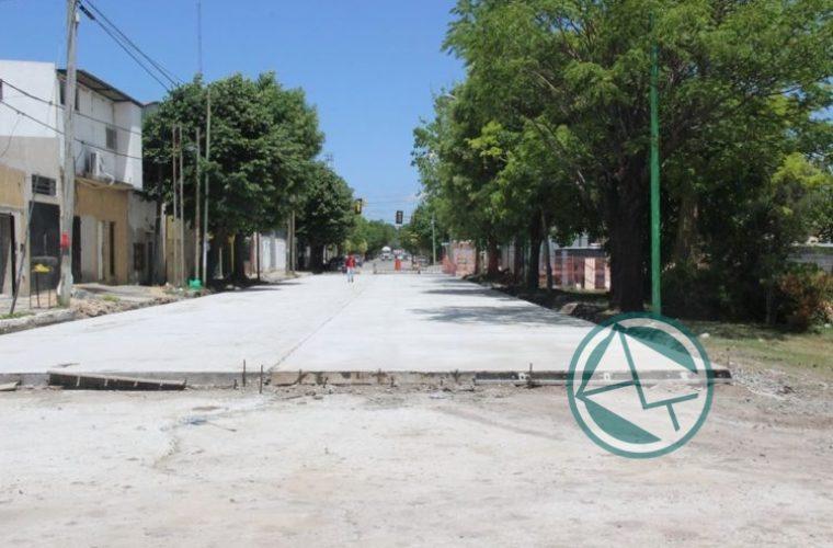 Renovación de las calles de la localidad de El Dique 2