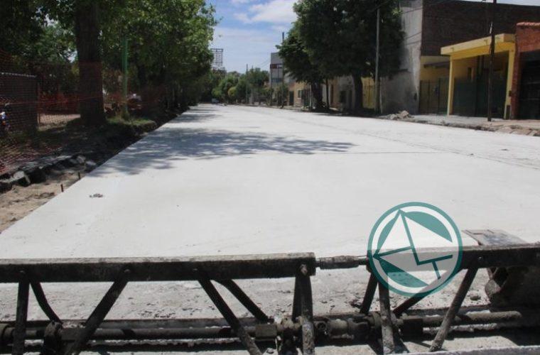 Renovación de las calles de la localidad de El Dique 4