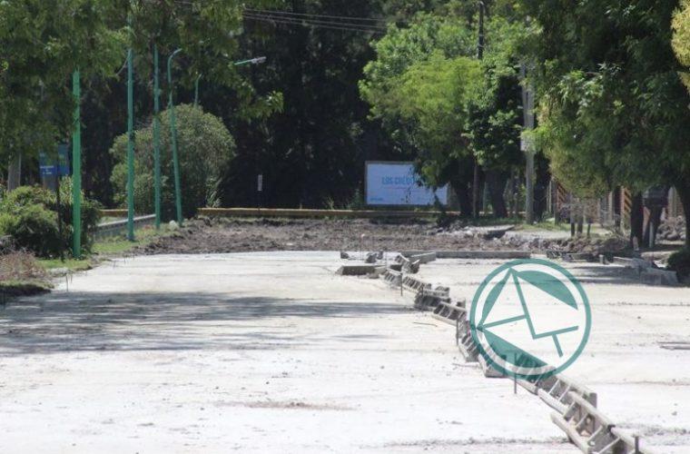 Renovación de las calles de la localidad de El Dique 6