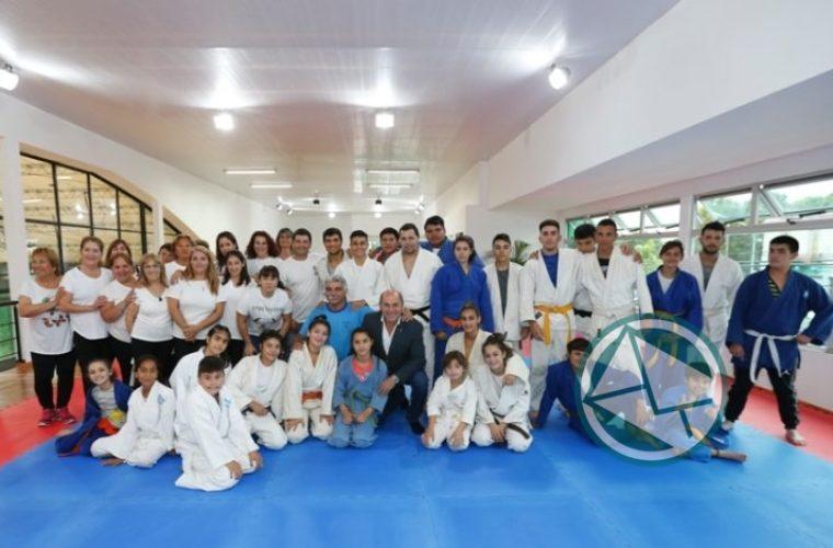 Se inauguró la planta alta del Polideportivo de Ensenada 5