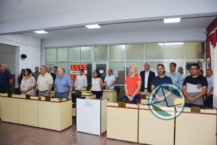 El Concejo de Berisso homenajeó al intendente y concejales electos en 1983 02