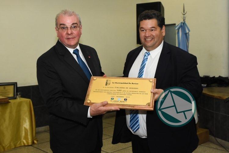 La Sociedad Italiana de Berisso celebró su Centenario2