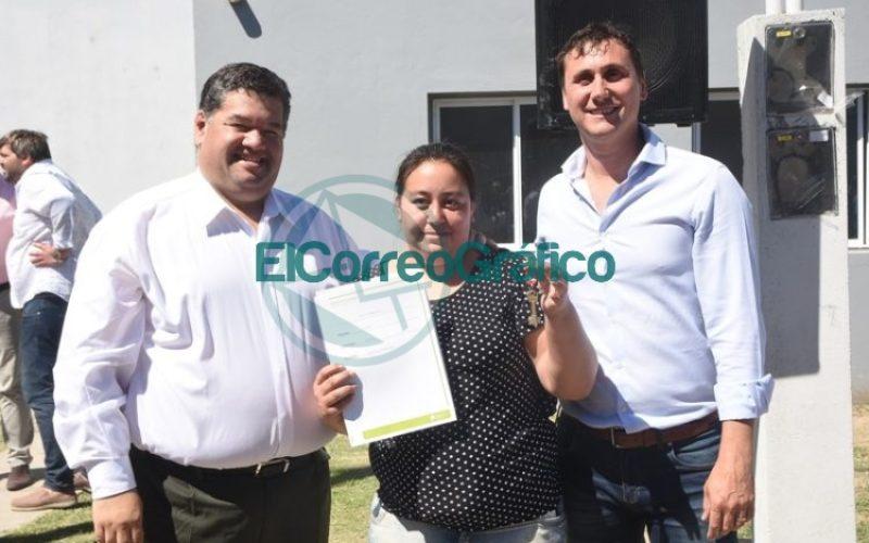 Las últimas 61 viviendas del Barrio Villa Progreso fueron entregadas 03