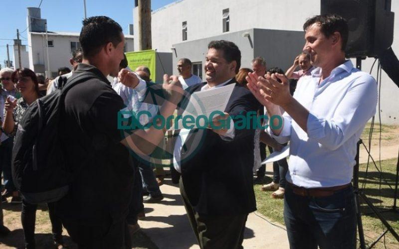 Las últimas 61 viviendas del Barrio Villa Progreso fueron entregadas 05