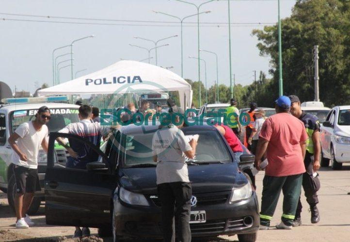 Operativo de Seguridad en Punta Lara para garantizar la temporada 01