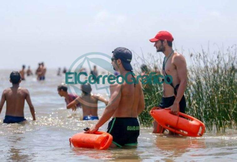 Operativo de Verano en Punta Lara guadavidas 06