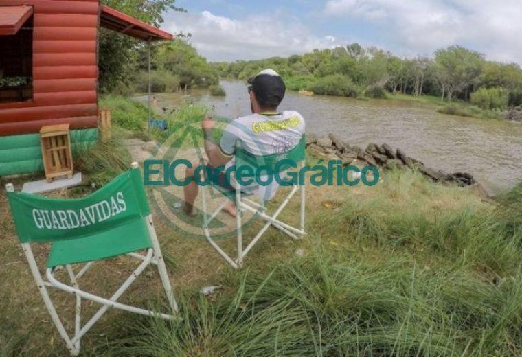 Operativo de Verano en Punta Lara guadavidas 07
