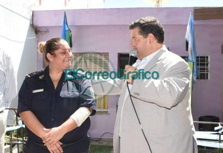 inauguración la nueva sede de la Comisaría de la Mujer y la Familia Berisso 01