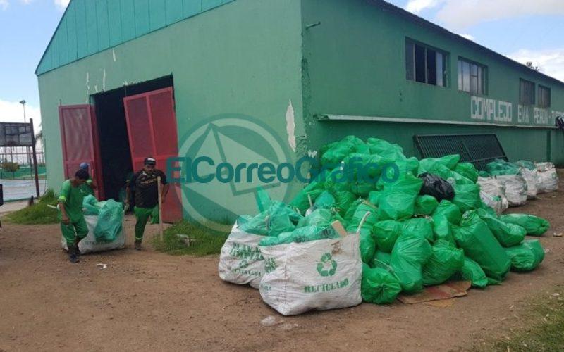mantenimiento Punta Lara Basura 2