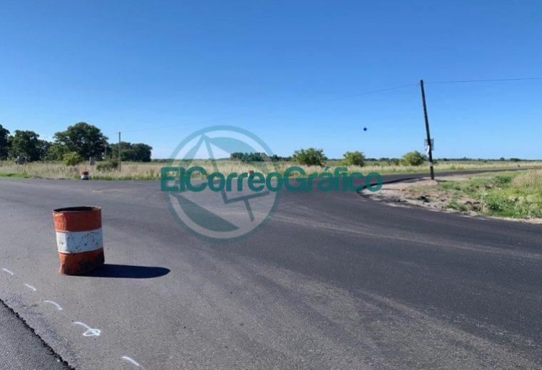 Avanzan los trabajos de repavimentación sobre la Ruta Provincial 11 01