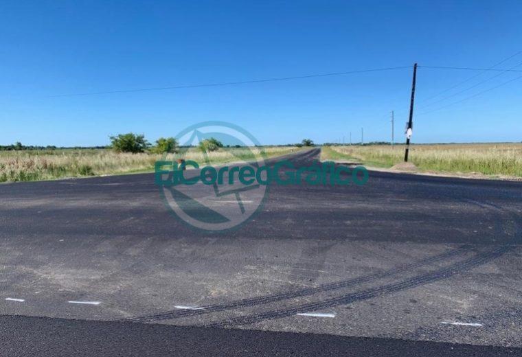 Avanzan los trabajos de repavimentación sobre la Ruta Provincial 11 04