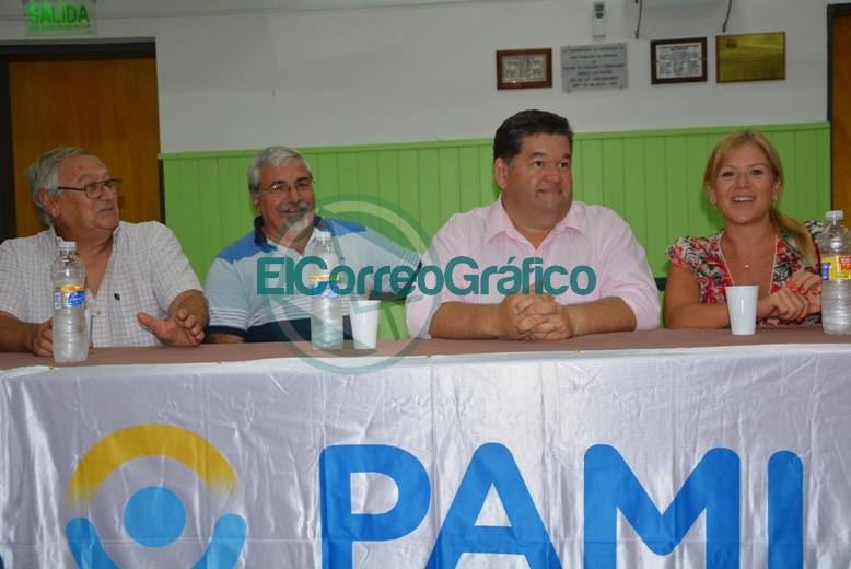 """El Centro de Abuelos """"General San Martín"""" recibió subsidio a través de PAMI 0"""