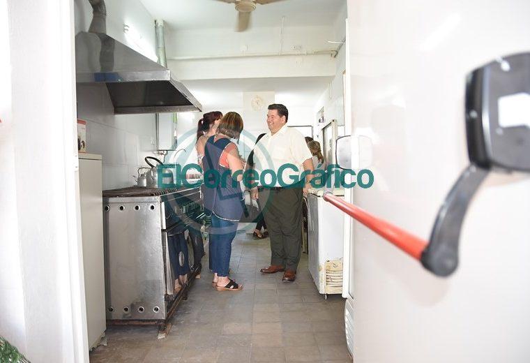 Inauguración de la cocina del Centro Educativo Complementario N° 801 02