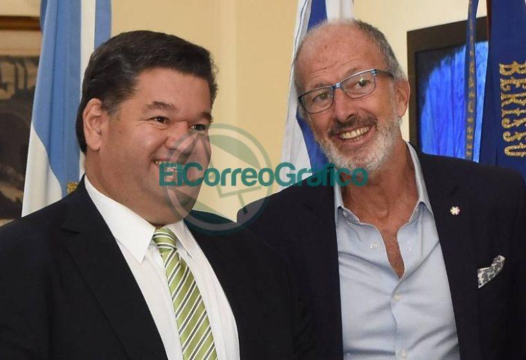 Nedela recibió al presidente de DAIA, Jorge Knoblkovits 1