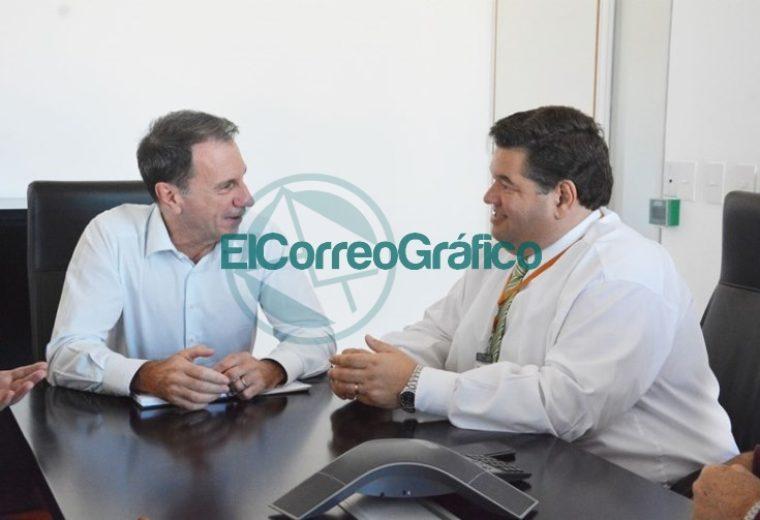 Nueva reunión entre Jorge Nedela y el CEO de TecPlata 1