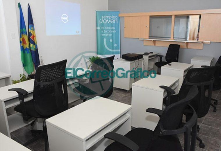Nuevas salas de capacitación para la Oficina de Empleo de Berisso 1
