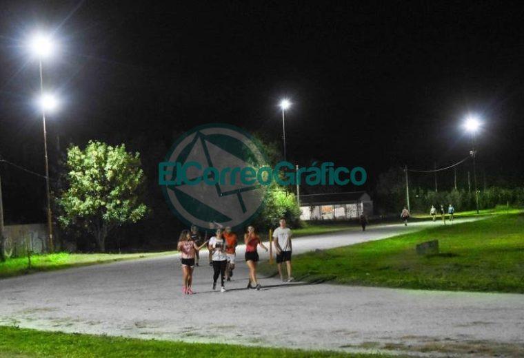 Renovación de la iluminación de la Pista de Atletismo Olmi Figueira 3